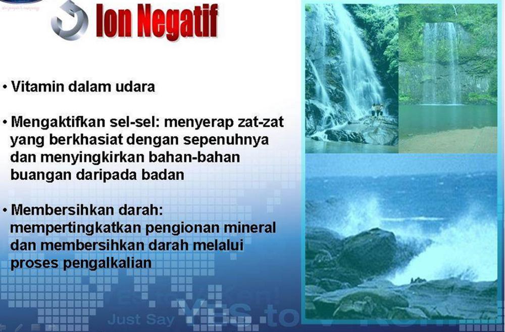 12 vken ion negatif